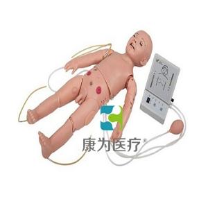 """""""康为医疗""""全功能一岁儿童高级模拟人(护理、CPR、听诊三合一)"""