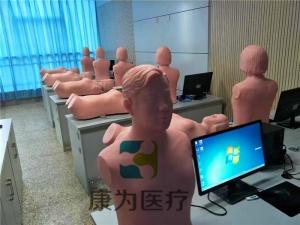 """""""康为医疗""""心肺音听诊触诊标准化模拟病人,心脏听诊模拟训练模型"""